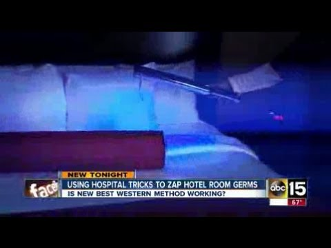 Hotel Uses Uv Lights To Clean Up Youtube