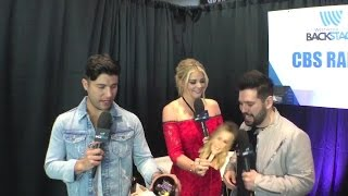 Download Lagu Lauren Alaina Interviews Dan and Shay Backstage at the ACMs! Gratis STAFABAND