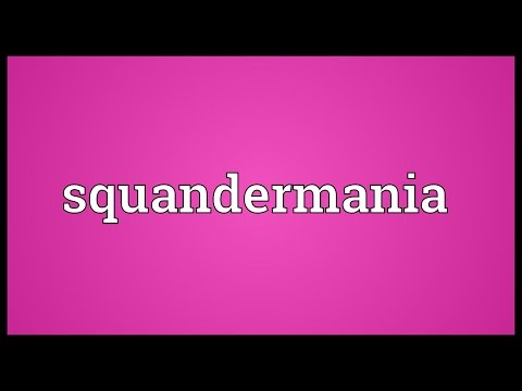 Header of Squandermania