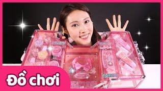 Bộ đồ chơi hộp trang điểm và sơn móng tay | Carrie và những người bạn đồ chơi | CarrieTV VietNam