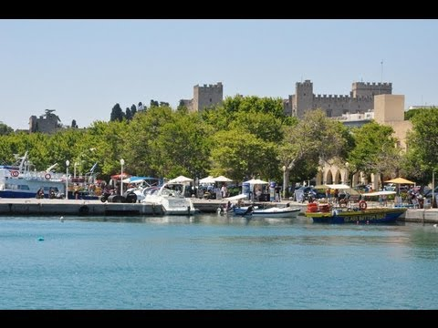 Rhodes (Rodos, Rhodos) in the Greek Islands Greece HD