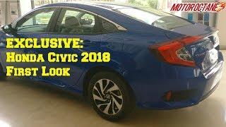 Honda Civic 2018 India First Look in Hindi | #MotorUpcoming | MotorOctane