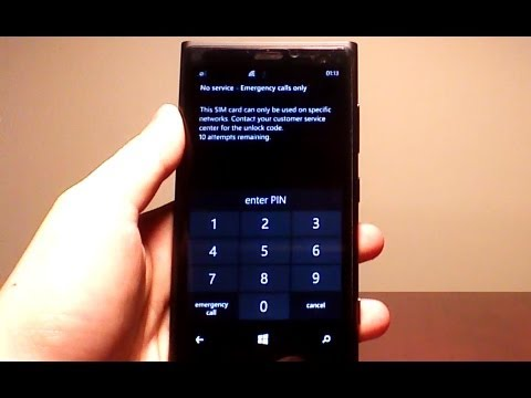Tutorial: how to unlock Nokia Lumia 920 or any Windows Phone 8*