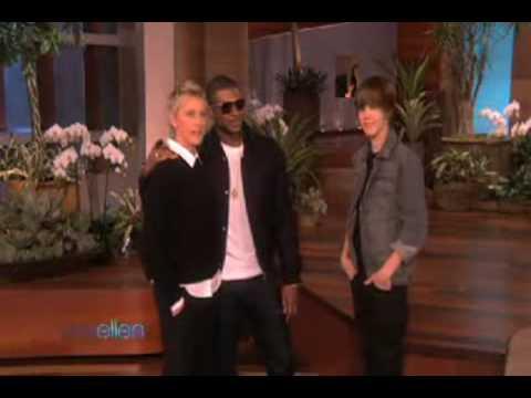 Justin Bieber & Usher Dancing @ The Ellen Show 11/17/2009