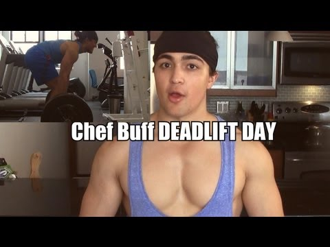 Chef Buff DEADLIFT Workout: Ed Coan Week 4 455 x 2 Image 1