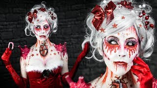 Christmas Candle Lady || FACEPAINTING || DE
