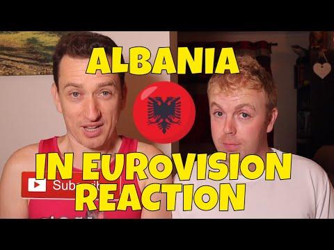 EUROVISION ALBANIA ALL SONGS REACTION