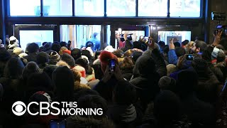 Millions rush into stores for Black Friday shopping