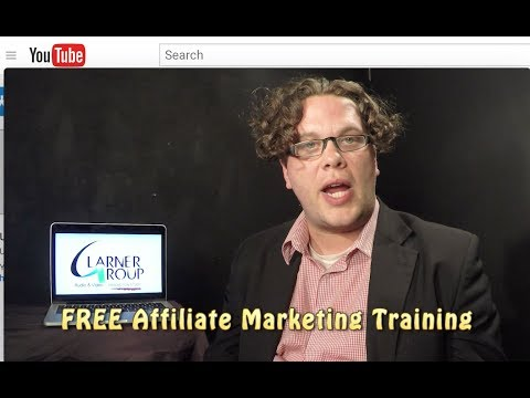 FREE Affiliate Marketing Training