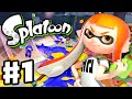 Splatoon - Gameplay Walkthrough Part 1 - Intro, Multiplayer, and Single Player (Nintendo Wii U) MP3