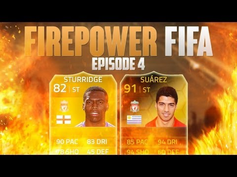 FIREPOWER FIFA! #4 UPGRADES!   FIFA 14 Ultimate Team