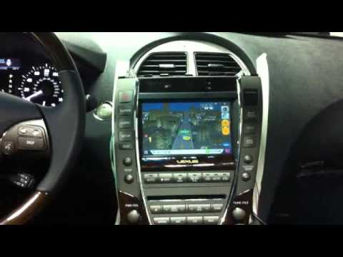 Installing Aftermarket Navigation For 2011 Lexus Es350 Youtube