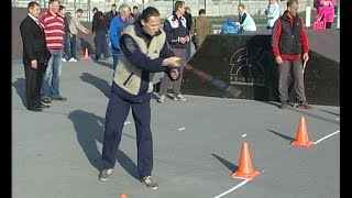 Возрождение городошного спорта: в Ельце прошёл открытый турнир по старинной русской игре