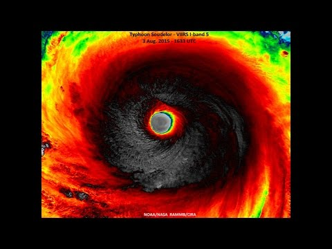 End Times News 2015 - World's Most Powerful Super Typhoon Soudelor Roars Across Pacific
