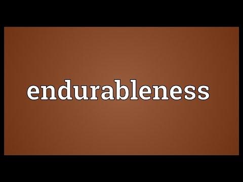 Header of endurableness