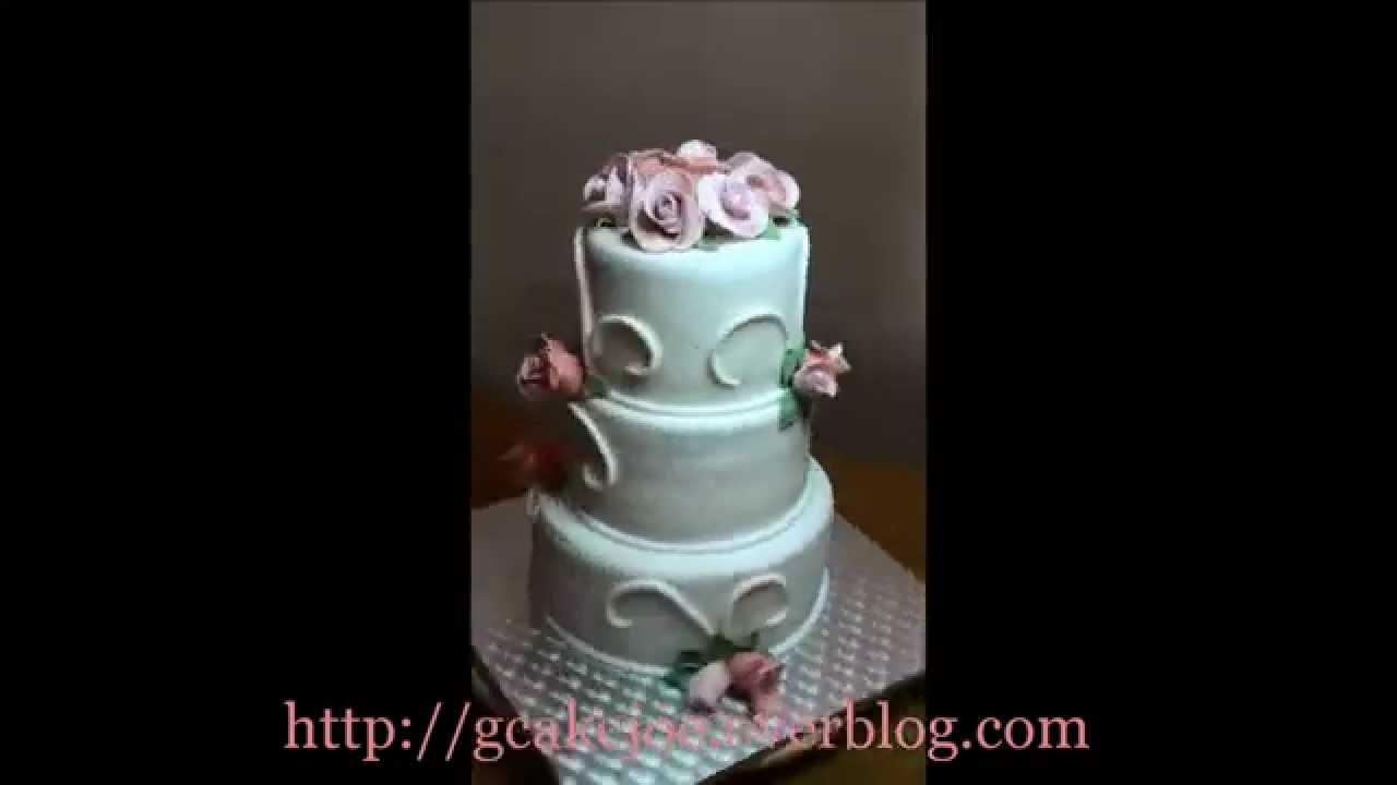 Decoration Communion Blanc Rose