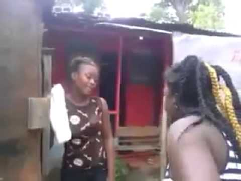 A jamaican woman fight cheating girl