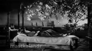 aa bhi ja meri duniya mein koi nahin..Talat_Majrooh_Jamal Sen_Daera1953..a tribute
