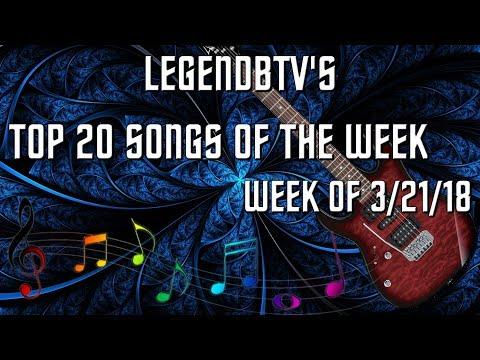 Top 20 Countdown: Week of March 21, 2018