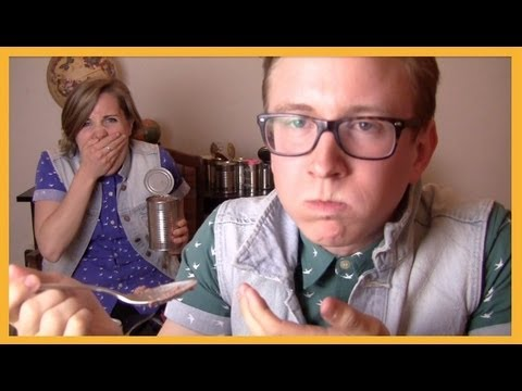 Tin Can Challenge (ft. Hannah Hart) | Tyler Oakley video