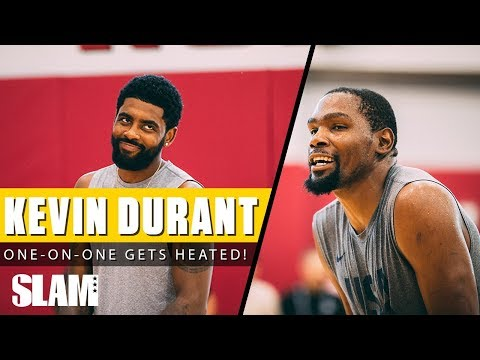 Kevin Durant wins HEATED One-on-One Game at USA Training Camp! 🔥