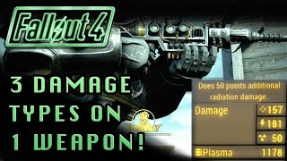 Fallout 4 | 3 Damage Types - 1 Weapon! (Ballistic, Energy, and Radiation) Legendary Weapons!