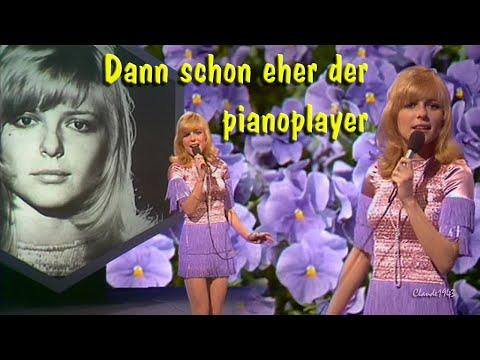 France Gall Dann Schon Eher Der Pianoplayer retronew