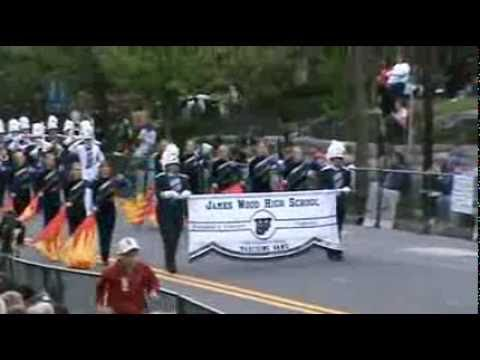 James Wood High School Marching Band 2011 Shenandoah Apple Blossom Festival Firefighters Parade