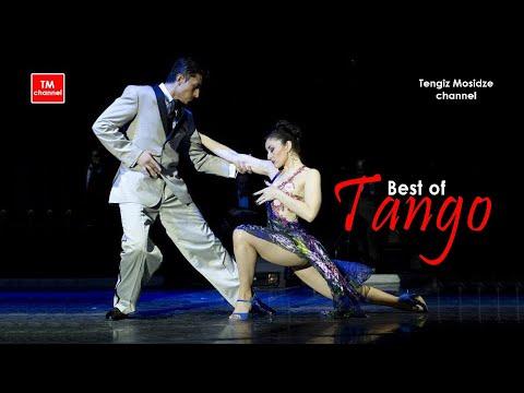 Tango El huracan. Julian Sanchez and Melina Mourino. Танго. Хулиан Санчес и Мелина Моуриньо