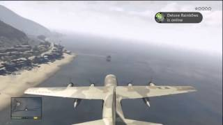 GTA 5  How To Steal A Titan C 130 From Fort Zancudo Military Base