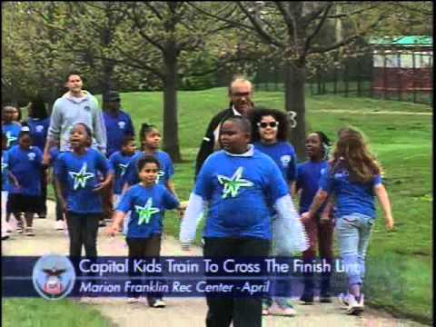 Mayor Mike trains with Capital Kids for Capital City Marathon