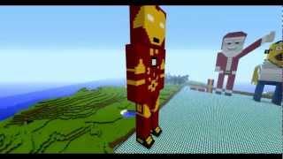 Iron Man Minecraft