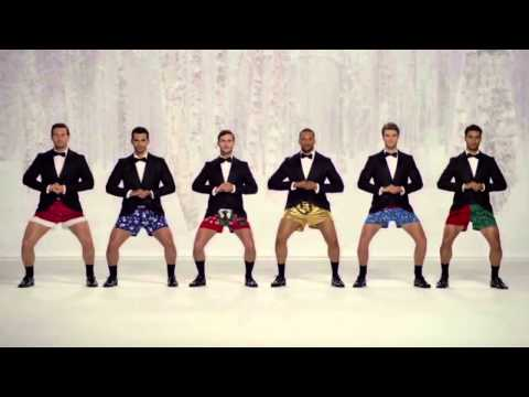 Kmart Commercial Show Your Joe Jingle Bells men In Boxers! [Funny Kmart TV AD]