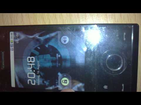 HTC Touch Diamond - Android 2.2