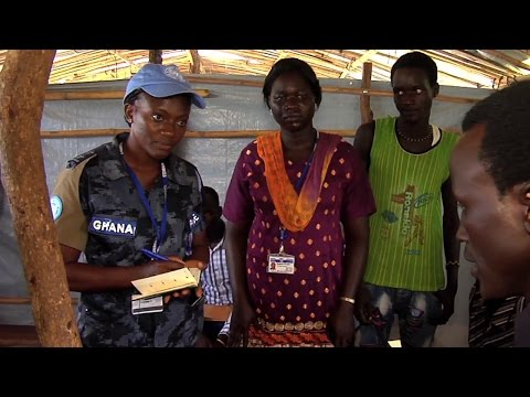 Women UN Police in South Sudan