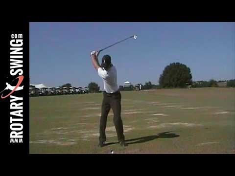 Chuck Quinton Rotary Swing -Golf Backswing 10-27-08 - YouTube
