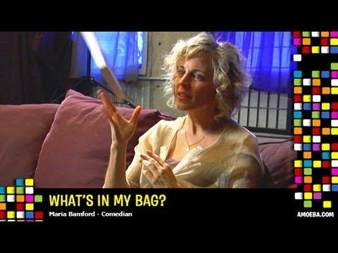 Maria Bamford - What's In My Bag?