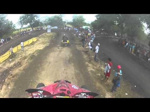 GoProHD: Piero Campagna Let's Ride 4WHEELS Dominicano @ Carrera De Palma