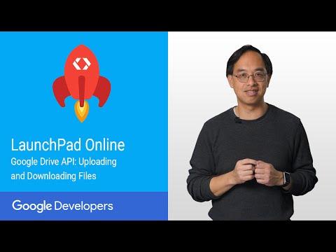Google Drive API: Uploading & Downloading Files