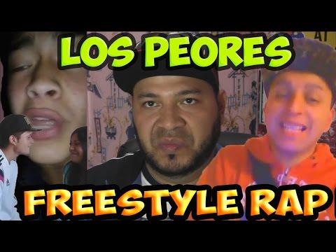 LOS PEORES  FREESTYLE RAP DEL MUNDO