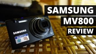 Samsung MV800 Digital Camera Review