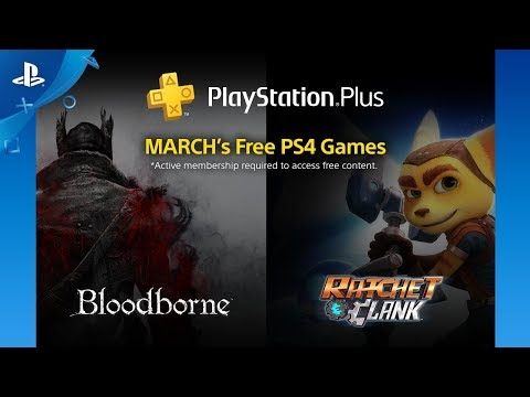 PlayStation Plus - Free PS4 Games Lineup: March 2018 | PS4
