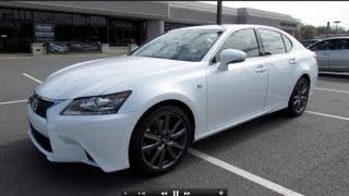 2013 Lexus GS350 F-Sport Start Up, Exhaust, and In Depth Review