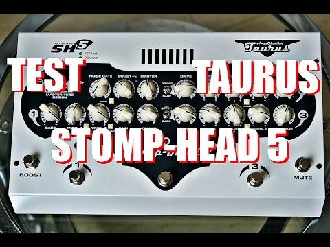 TEST Taurus Stomp-Head 5 CE