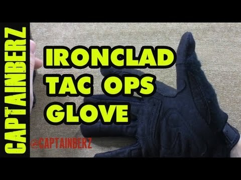 IronClad Tac Ops Gloves