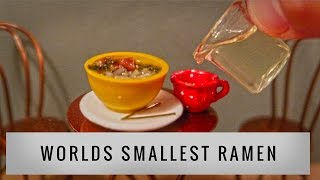 WORLDS SMALLEST RAMEN!