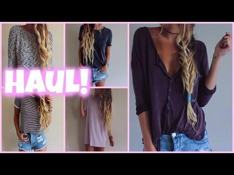 Back to School // Clothing HAUL