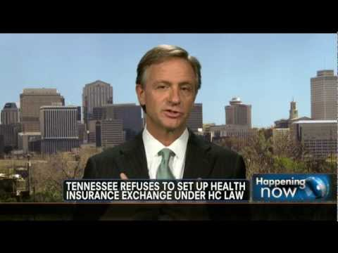 Gov. Bill Haslam on FNC Discussing Obamacare & Health-Care Exchanges