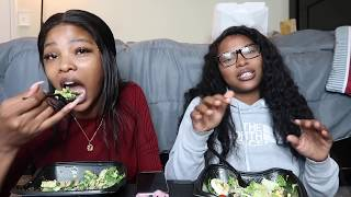 "CHICK-FIL-A MUKBANG | NICKI MINAJ ""QUEEN"" ALBUM REVIEW/REACTION 