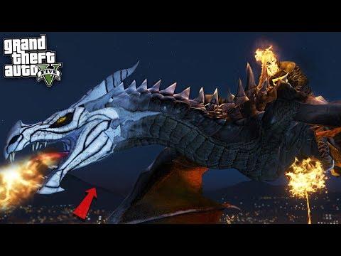 DRAGON GHOST RIDER - GTA 5 Mods